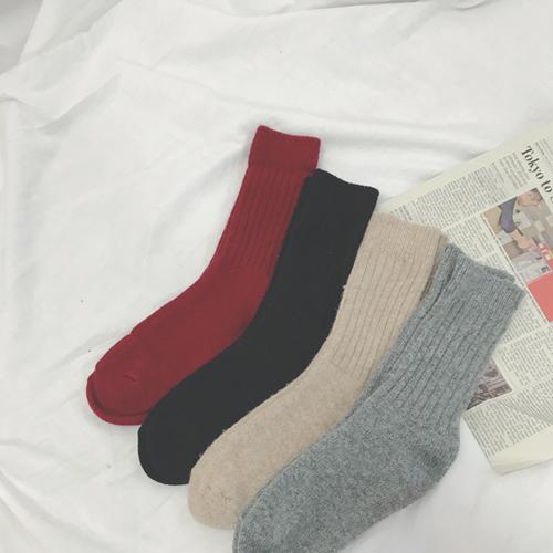 Daily Rubber, Socks [Wine] <font color='hotpink'><br> SALE 40%</font>