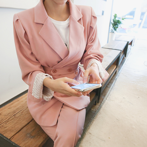 The Secret to Blessing, Jacket <br> <font color='gray'>Pink Same day when ordering alone</font>