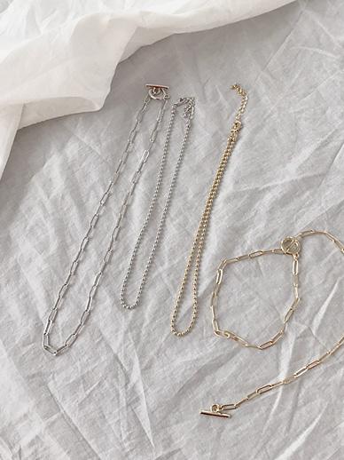 clip chain, Necklace [Set]