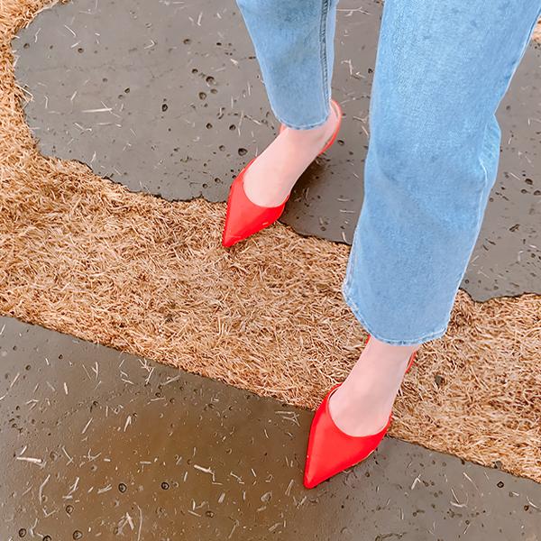 Coman Sling backs, Middle heel