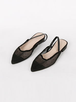 [SALE] Cheki, Sling backs (Fitting shoes 240)