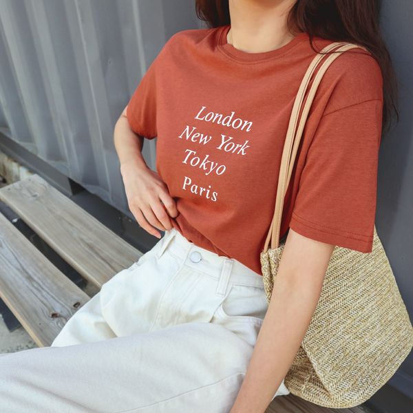 Rouge melody, T-shirt <br> <font color='red'>★ coordinated goods orders runaway ★ !!</font> <br> <font color='gray'>Brown same day when ordering alone</font>