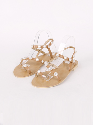 [SALE] pearl watercolor, Sandals (Fitting shoes 240)