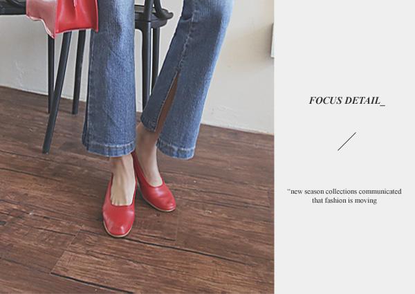 Pure, heel [Beige240] <font color='hotpink'><br> SALE 20%</font>