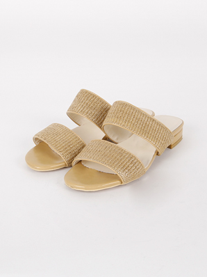 [SALE] Pure one-to-strap, Slippers (Fitting shoes 240)