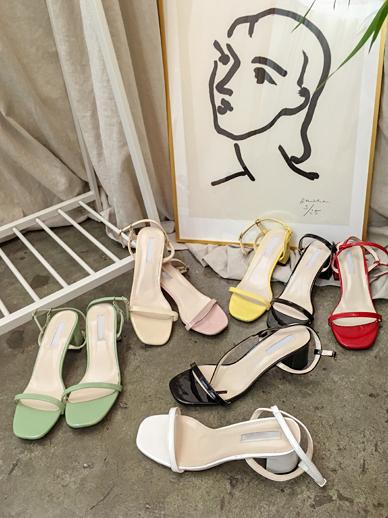 Lena, Middle heel