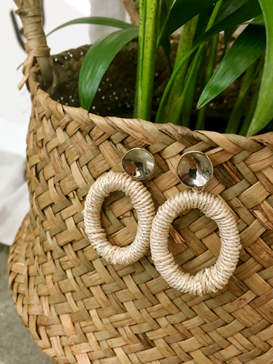 Coco ring, earring