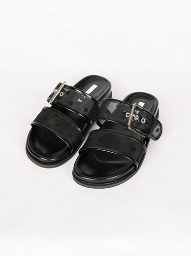 [SALE] Dot Buckle, Slippers (Fitting Shoes 240)