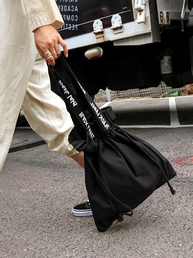 Black Vintage, Eco Bag