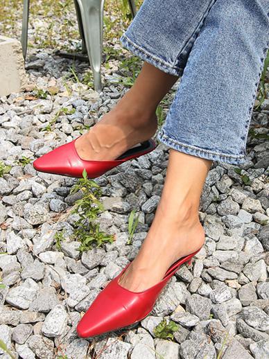 Middle, heel