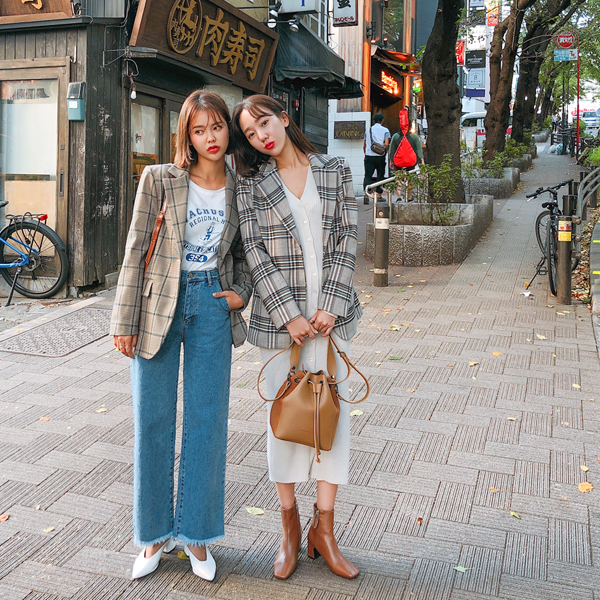 [LOVE LINE] Tokyo check, Jacket