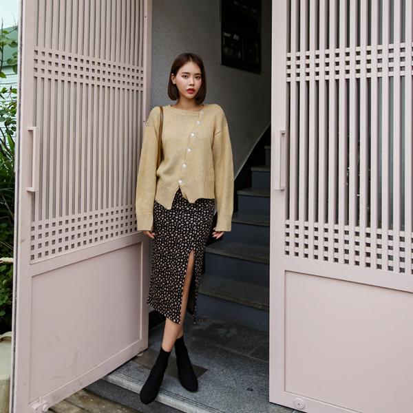 mocca Leopard, Skirt