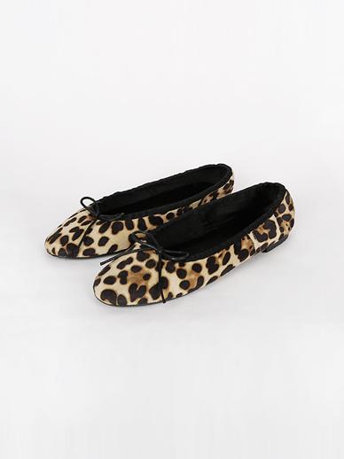 [SALE] bowknot Leopard, Flat (Fitting Shoes 240)