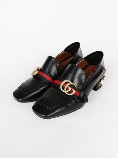 [SALE] Heart heels, Middle heel (Fitting shoes 245)