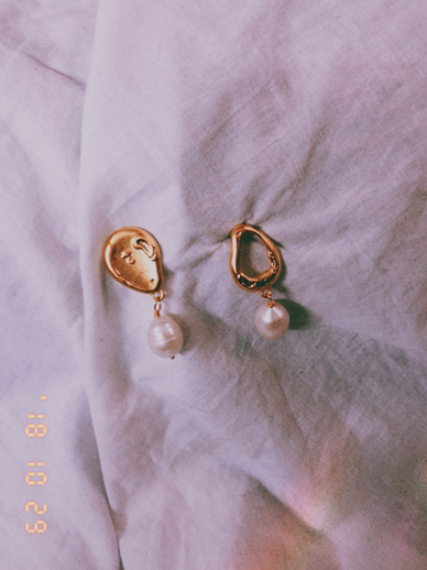 Stamper, earring