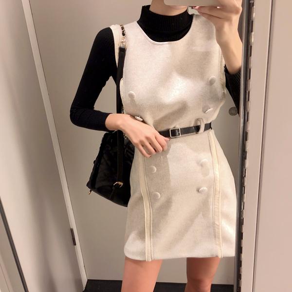 Pony, Knit Skirt Vest [Set] <br> <font color='red'>★ The best item in KONGSTYLE !! ★</font>