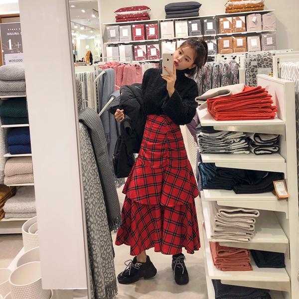 Ullala, Check Skirt