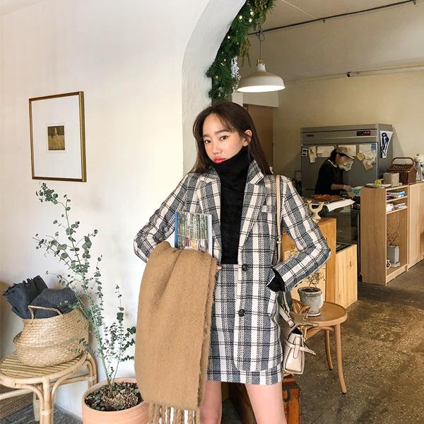 Honey Combination, Jacket + Skirt [Set] <br> <font color='red'>★ The best item in KONGSTYLE !! ★</font>