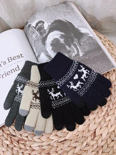 Puringray, gloves