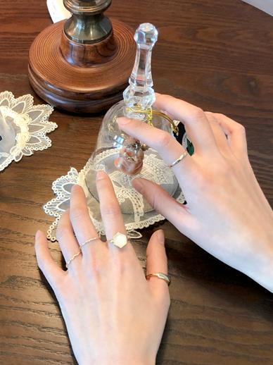 feminine Sixth Ring, Ring [Set]