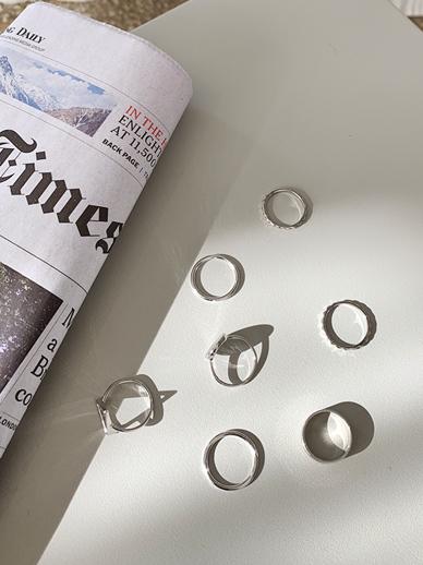 Shaped ring, Ring [Set]