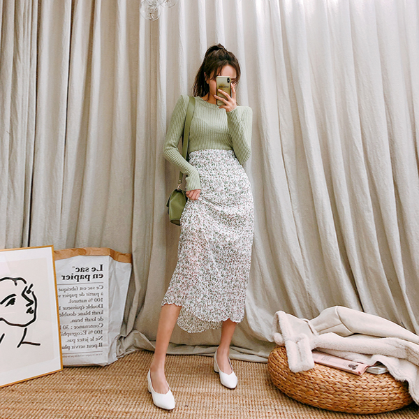 Peppermint, skirt <br> <font color='gray'>When ordering white alone, ships same day</font>