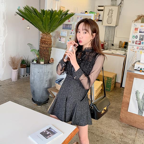 Owned instinct, Blouse + Skirt [Set]