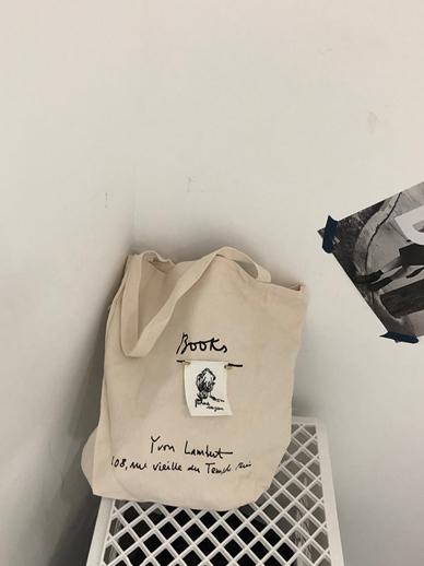 Stitch labels, Bag