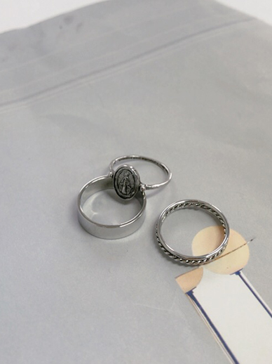 Gully Coin, Ring [Set]