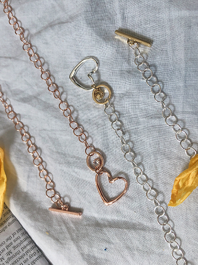 heart to heart, Necklace
