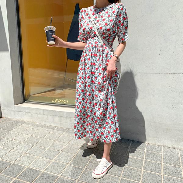 Rose Lee, White Dress Dress
